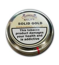 Turmeaus Snuff - Solid Gold - 20g Tin