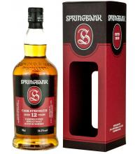 Springbank 12 Year Old Cask Strength 2017 Single Malt Whisky - 70cl 54.2%