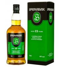 Springbank 15 Year Old 2017 - 70cl 46%