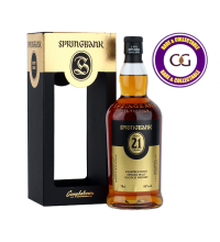 Springbank 21 Year Old Single Malt Scotch Whisky - 70cl 46%