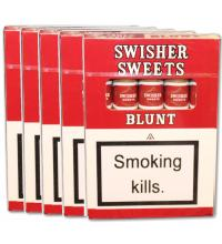 Swisher Sweets Blunt Cigar - 5 x 5 packs (25 cigars)