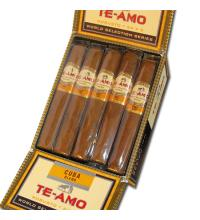 Te-Amo World Selection Series - Cuba Blend Robusto Cigar - Pack of 15