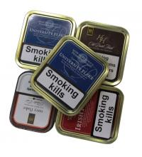 Empty Pipe Tobacco Tins - Rectangle