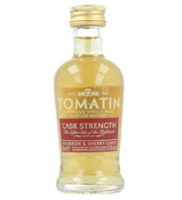 Tomatin Cask Strength Miniature - 5cl 57.5%