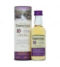 Tomintoul 10 Year Old Single Malt Scotch Whisky Miniature - 5cl 40%