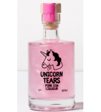 Unicorn Tears Pink Raspberry Gin Miniature - 5cl 40%
