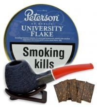 Peterson University Flake Pipe Tobacco 050g (Tin)