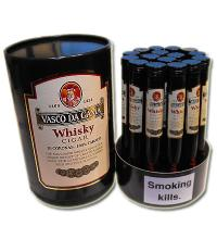 Vasco Da Gama Whisky Cigar Corona Cigar - Pack of 16
