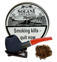 Solani White and Black Pipe Tobacco 50g Tin