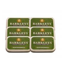 Barkleys Mints – Wintergreen Tin 50g – 6 x 50g (300g)