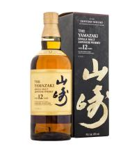 Suntory Yamazaki 12 Year Old New Packaging Single Malt Whisky - 70cl 43%