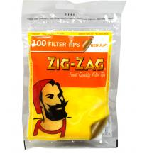 Zig-Zag Regular Filter Tips (100) 1 Bag