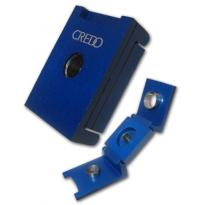 Credo 3 in 1 Cigar Punch Cutter – Square – Blue