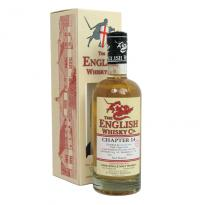 English Whisky Company Chapter 14 70cl 46% - includes FREE HIP FLASK