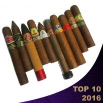C.Gars Top 10 Cigars from 2016