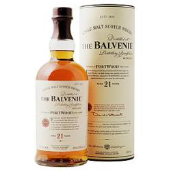 Balvenie 21 Year Old Port Wood Finish Malt Scotch Whisky - 70cl 40%