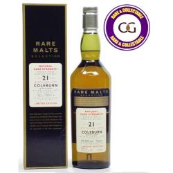 Coleburn 21 Year Old 1979 Vintage Rare Single Malt Scotch Whisky - 70cl 59.4%