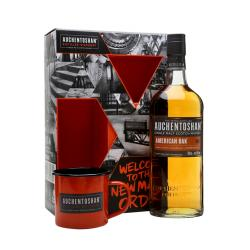 Auchentoshan American Oak Gift Pack with Mugs - 70cl 40%