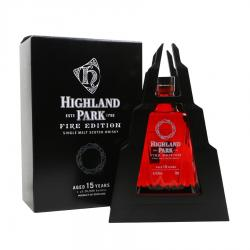 Highland Park 15 Year Old Fire Edition Single Malt Scotch Whisky - 70cl 45.2%
