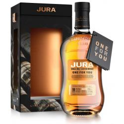 Jura One For You 18 Year Old Single Malt Scotch Whisky - 70cl 52.5%