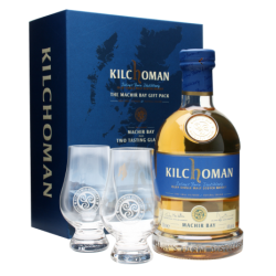 Kilchoman Machir Gift Pack With 2 Glasses - 70cl, 46.0%