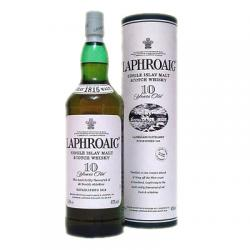 Laphroaig 10 Year Old Single Malt Scotch Whisky - 70cl, 40%