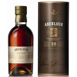 Aberlour 18 Year Old Single Malt Scotch Whisky - 70cl 43%