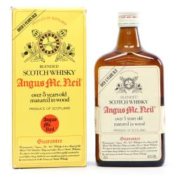 Angus McNeil Over 5 Years Blended Whisky - 40% 70cl