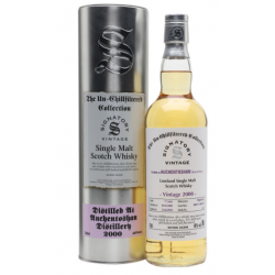Auchentoshan 17 Year Old 2000 Signatory Vintage Single Malt Whisky - 70cl 46%