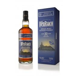 BenRiach 22 Year Old Moscatel Finish Whisky - 70cl 46%