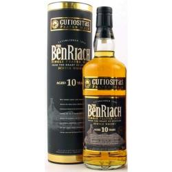 BenRiach 10 Year Old Peated Curiositas Single Malt Scotch Whisky - 70cl 40%