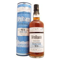 BenRiach 35 Year Old 1978 (Cask 1047) Moscatel Finish Whisky - 70cl 51.1%
