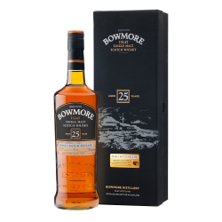 Bowmore 25 Year Old Single Malt Scotch Whisky - 70cl 43%