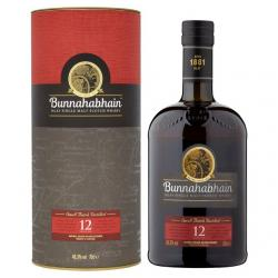 Bunnahabhain 12 Year Old Small Batch Distilled Single Malt Whisky - 70cl 46.3%