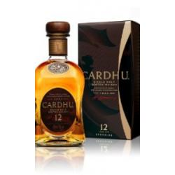 Cardhu 12 Year Old Single Malt Scotch Whisky - 70cl 40%
