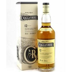 Cragganmore 12 Year Old Single Malt Scotch Whisky - 20cl 40%