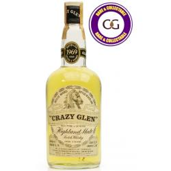 Crazy Glen Over 5 Year Old 1969 Malt Scotch Whisky - 75cl 40%