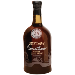 Cutty Sark Tam O'Shanter 25 Year Old Single Malt Scotch Whisky - 70cl 46.5%