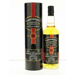 Dalmore 1987 14 Year Old Cadenhead Single Malt Scotch Whisky - 70cl 60.2%