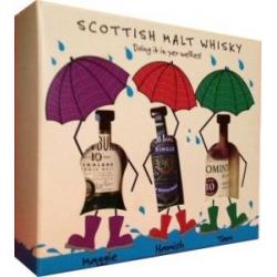Doin It In Your Wellies Gift Set - 3 x 5cl