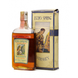 Echo Spring 1916-1922 Pre-Prohibition Bourbon - 47.3cl 50%