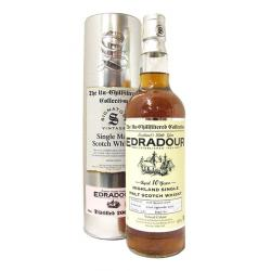 Edradour Cask Strength 2006 Vintage Bourbon Cask Single Malt - 70cl 46%