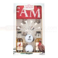 Famous Grouse Golf Pack 2 x 5cl Miniature Gift Pack