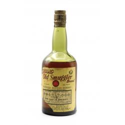 Old Smuggler 1950s Blended Scotch Whisky - 86 US Proof 4/5 Quart
