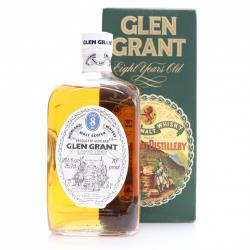 Glen Grant 8 Year Old 1960s - 70 Proof 26 2/3 Fl.Ozs
