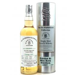 Glen Keith 20 Year Old 1997 Signatory Vintage Single Malt Whisky - 70cl 46%