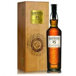 Glen Scotia 25 Year Old Single Malt Scotch Whisky - 70cl 48.8%