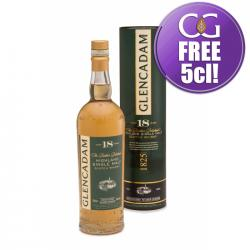 Glencadam 18 Year Old Single Malt Scotch Whisky - 70cl 46%
