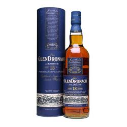 Glendronach 18 Year Old Allardice Single Malt Scotch Whisky - 70cl 46%