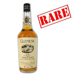 Glenesk 12 Year Old Vintage Single Malt Scotch Whisky - 75cl 40%